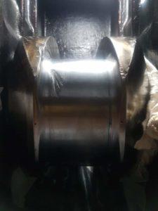 in situ grinding